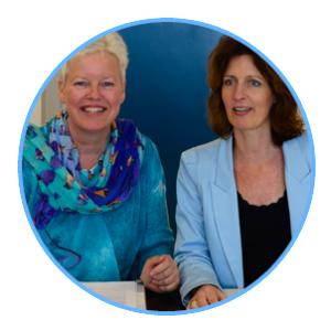 Margrete Stoute van Trainingsbureau al-licht-5 en Karin Tooren