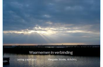 inspiratiebijeenkomst waarnemen in verbinding Margrete Stoute