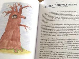 Kind In Kracht boek Verhalenbundel met verhaal De zoektocht van Helios