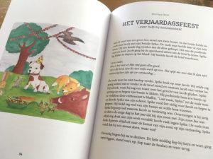 Kind In Kracht boek Verhalenbundel met verhaal Het Verjaardagsfeest