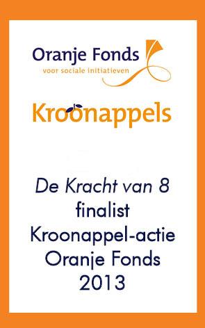 de kracht van 8 finalist kroonappel actie oranje fonds 2013