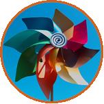 windmolen symbool van De Kracht van 8